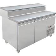 Mercatus S1 2490 Pizza Preparation 4 Door Counter Fridge 1