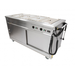 Parry MSB15 Mobile Bain Marie Servery
