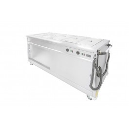 Parry MSB18 Mobile Bain Marie Servery