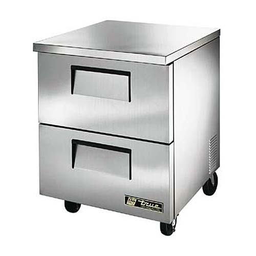True TUC-27D-2-HC Two Drawer Under Counter Refrigerator