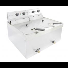Parry NPDF3 Double Table Top 3kW Electric Fryer
