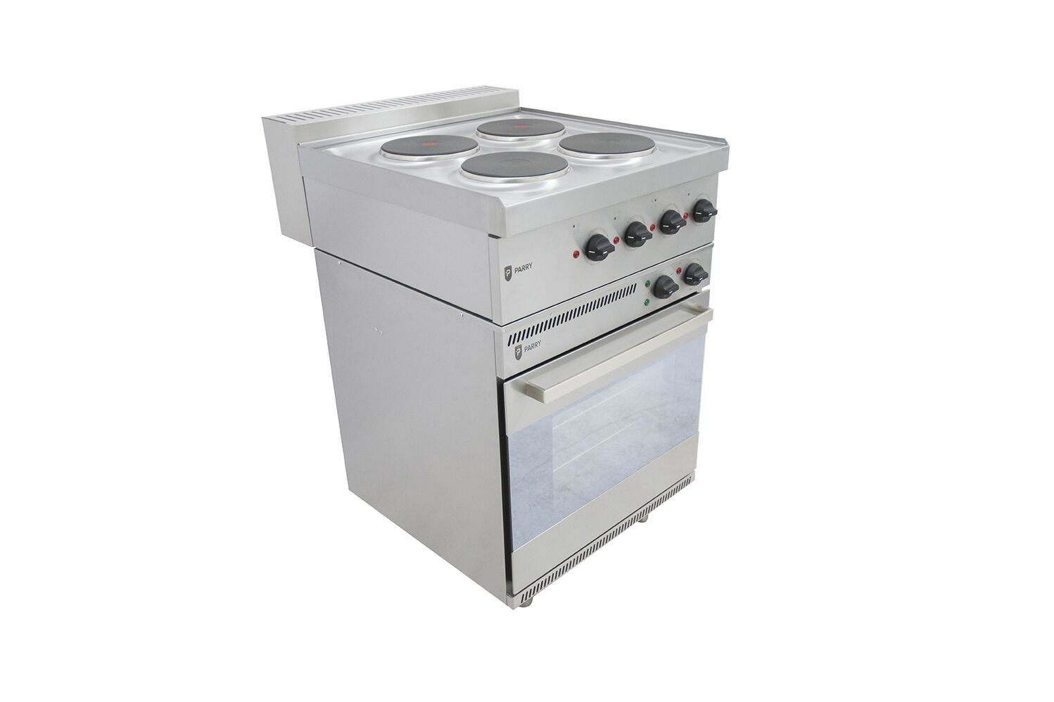 Parry NPEO1871 Electric Oven with 4 Hob Fitted Top
