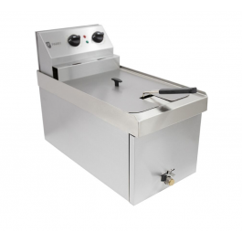 Parry NPSF3 Single Tank 9 Litre Table Top Electric Fryer - 3kW