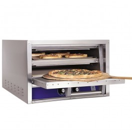 Bakers Pride P22S Electric Pizza Oven with Twin Stone Base & Single Door
