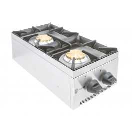 Parry AG2H Counter Top Gas Hob with Two Burners