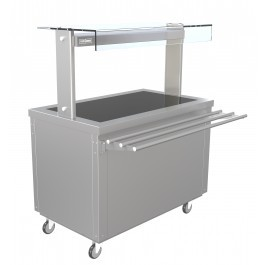 --- PARRY FLEXI-SERVE FS-HT3 --- Hot Cupboard with Hot Top