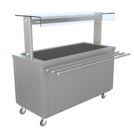 --- PARRY FLEXI-SERVE FS-HT4 --- Hot Cupboard with Hot Top