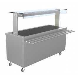 --- PARRY FLEXI-SERVE FS-HT5 --- Hot Cupboard with Hot Top