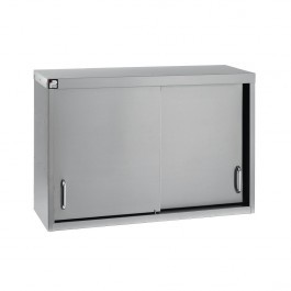 Parry WCS1200 Stainless Steel Sliding Wall Cupboard