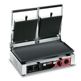 Sirman PD LR-LR T Large Double Ribbed Top & Flat Bottom Panini Grill