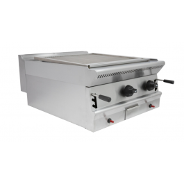 Parry PGC6 Heavy Duty Natural or Propane Gas Lava Rock Chargrill