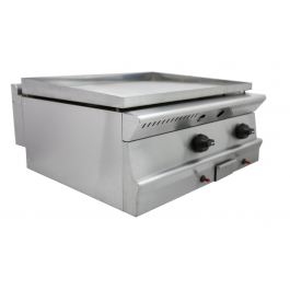 Parry PGG6 Dual Zone Natural or LPG Gas Griddle - W600mm