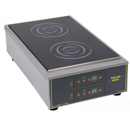 Roller Grill PID 700 Induction griddle plate With Two Independently Controlled Zones