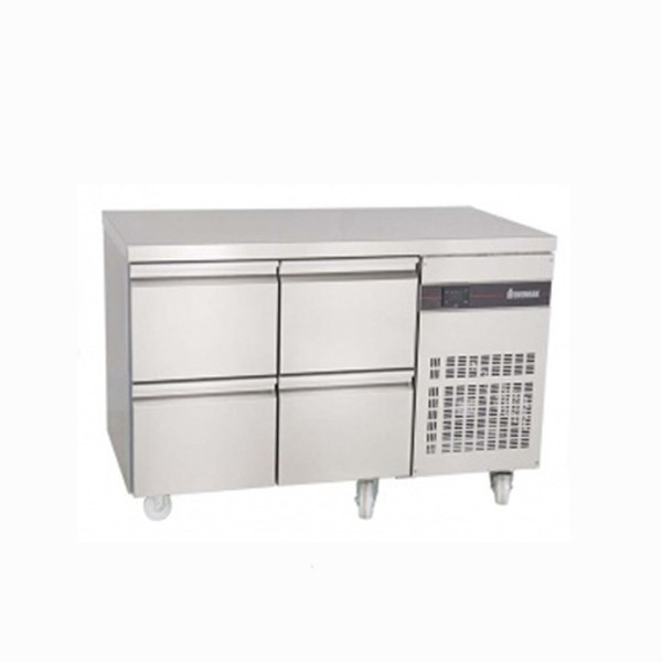 Inomak PN22-ECO Gastronorm 1/1 Counter with 4 Drawers - 274 Litre