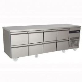 Inomak PN2222-ECO 8 Drawer 1/1 Gastronorm Counter - 583 Litre