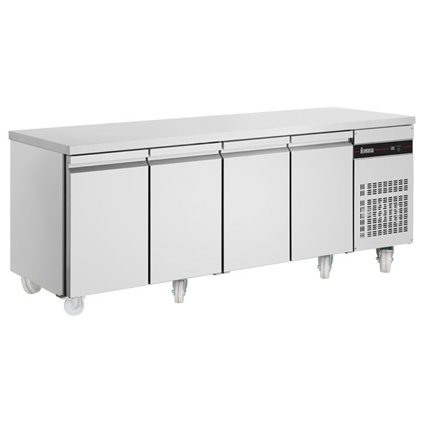 Inomak PN9999-ECO Gastronorm 1/1 Counter with 4 Doors - 583 Litre