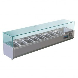 Polar G610 Refrigerated Countertop Prep Servery