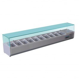 Polar GD876 Refrigerated Countertop Prep Servery