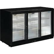 Polar GL006 Triple Sliding Door Cooler with Lighting