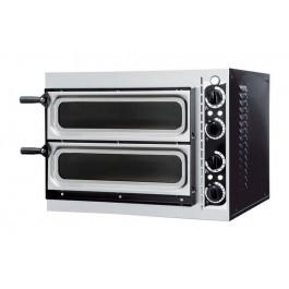 Prismafood Basic 2/40 Vetro Twin Deck Pizza Oven