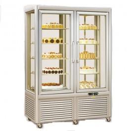 Tecfrigo Prisma 800RQS Silver Display Cabinet