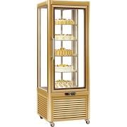 Tecfrigo Prisma 400RG Gold Rotating Display Cabinet