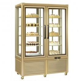 Tecfrigo Prisma 800RQG Gold Display Cabinet