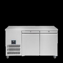 Williams HJC2-SA Jade Two Door Counter GN 1/1 Refrigerator