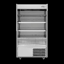 --- WILLIAMS R100-SCN --- Gem Stainless Steel Refrigerated Multideck with Nightblind