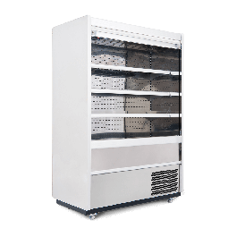 --- WILLIAMS R150-WCS --- Gem White Refrigerated Multideck with Roller Shutter