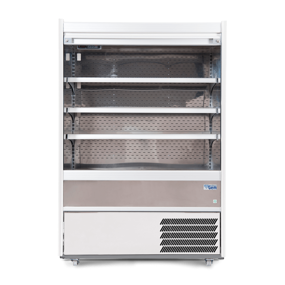 Williams R100-SCS Gem Stainless Steel Refrigerated Multideck & Roller Shutter