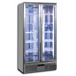 Prodis NT20ST Hinged Double Door Upright Stainless Steel Bottle Cooler