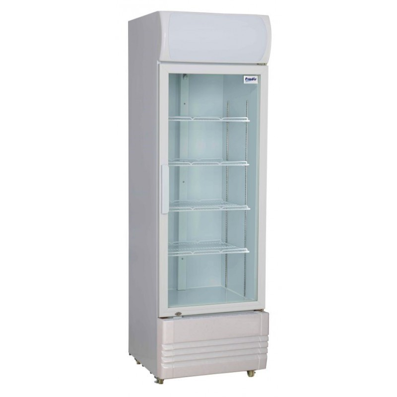 --- PRODIS XD260C --- Compact Single Glass Door Display Refrigerator