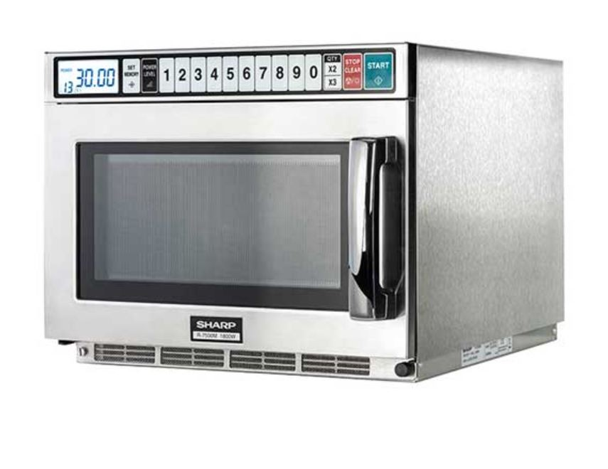 Sharp R-7500M Microwave 1800W with 14 Power Levels & Inverter Technology