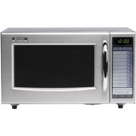 Sharp R21AT 1000W Commercial Microwave 133