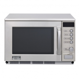 Sharp R23AM Extra Heavy Duty Commercial Microwave 1