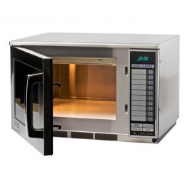 Sharp R24AT Extra Heavy Duty Programmable Microwave with Touch Controls