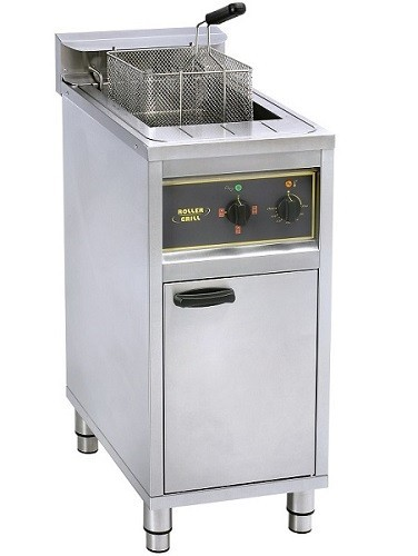 Roller Grill RFE16C Single High Powered Freestanding Fryer