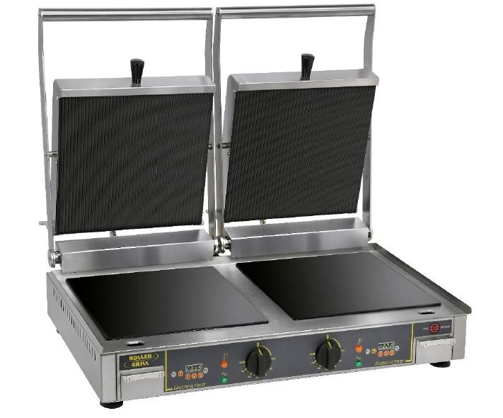 Roller Grill PREMIUM VC DL Twin Contact Grill Flat Base