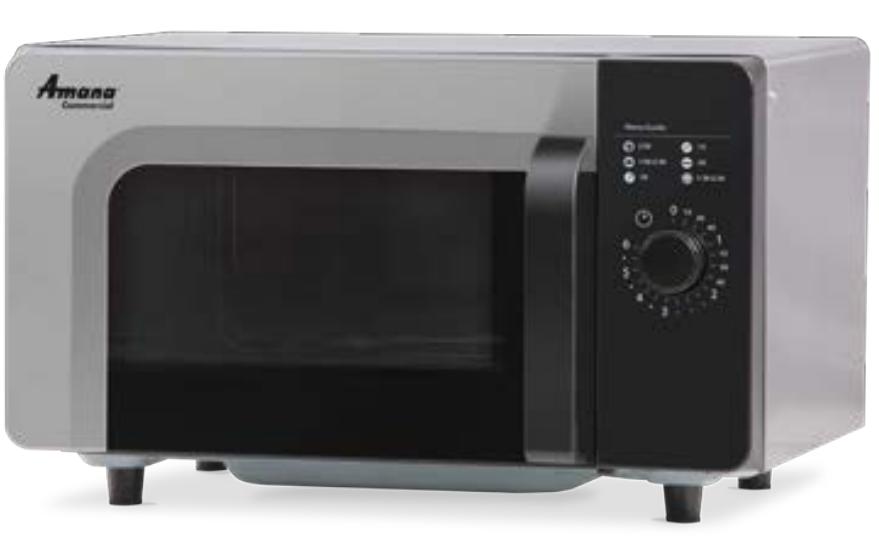 Amana RMS510DSA 1000W Dial Control Microwave