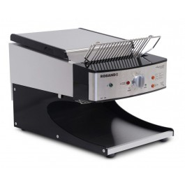 Roband ST500AB Black Sycloid Toaster with Speed Lock - 500 Slices per Hour