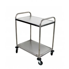 Craven RSE7-Z Two Tier Small Stainless Steel Serving Trolley