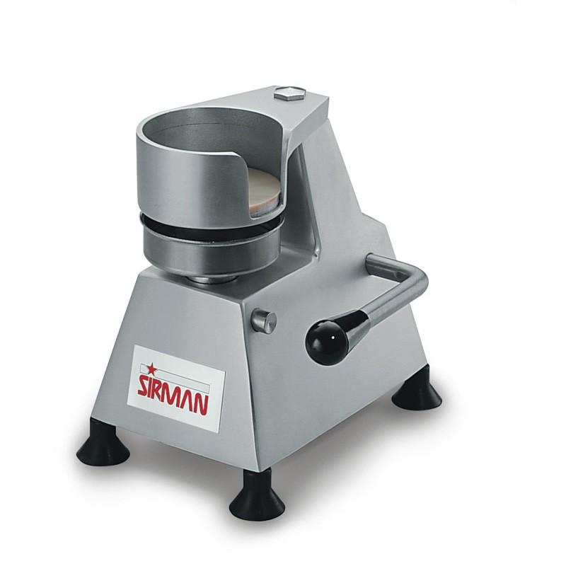 """Sirman SA100 4"""" Manual Burger Press - 100mm"""
