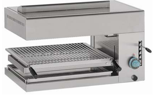 Hobart Ecomax SAG660 Gas Salamander Grill with Adjustable Height