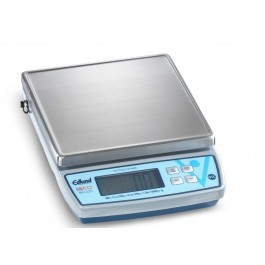 dlund BRAVO BRV-320 Stainless Steel 20lb Digital Scales with Clearshield Cover