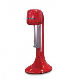 Roband DM21R Red Spindle Drinks Mixer with Stainless Steel Cup