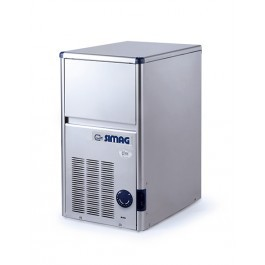 --- SIMAG SDE18 --- Self Contained Ice Cube Machine with 4 kg Storage