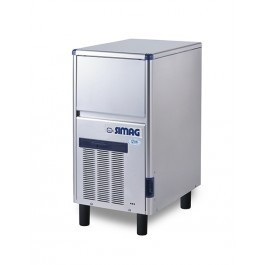 Simag SDE40 Self Contained Hollow Ice Cube Machine with 12 kg Storage