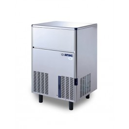 Simag SDE84 Self Contained Hollow Ice Cube Machine with 30kg Storage
