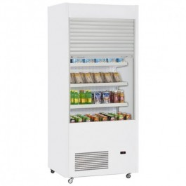 Frilixa Segura Plus 130 White Multideck with Lockable Shutter